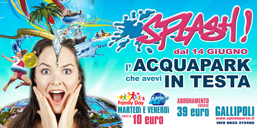 apertura splash gallipoli