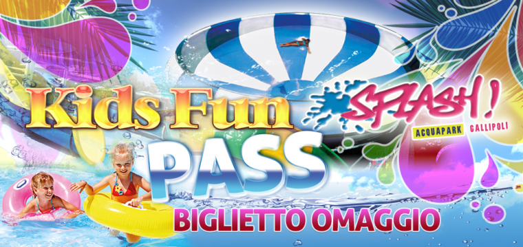 Kids Fun Pass Splash Gallipoli